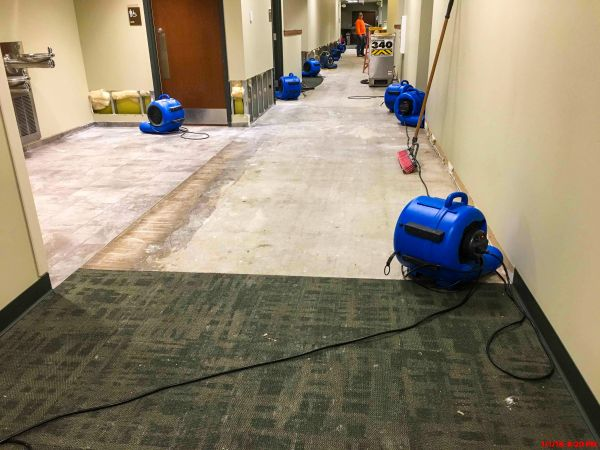Renovation for water damaged commercial buildings