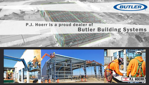 A proud supplier of Butler Building Systems