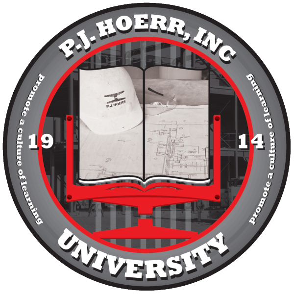 PJ Hoerr University Seal: Promoting a culture of learning