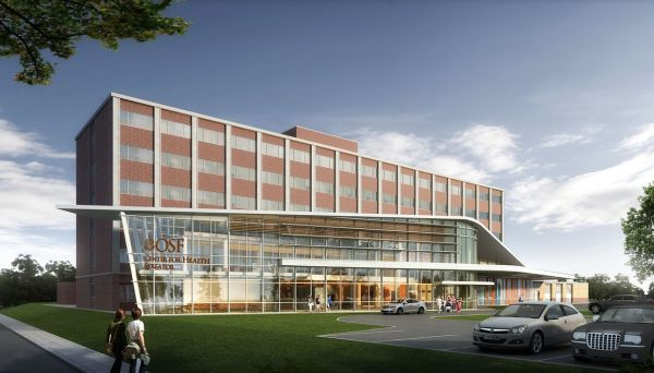digital renderings of new health center in streator illinois