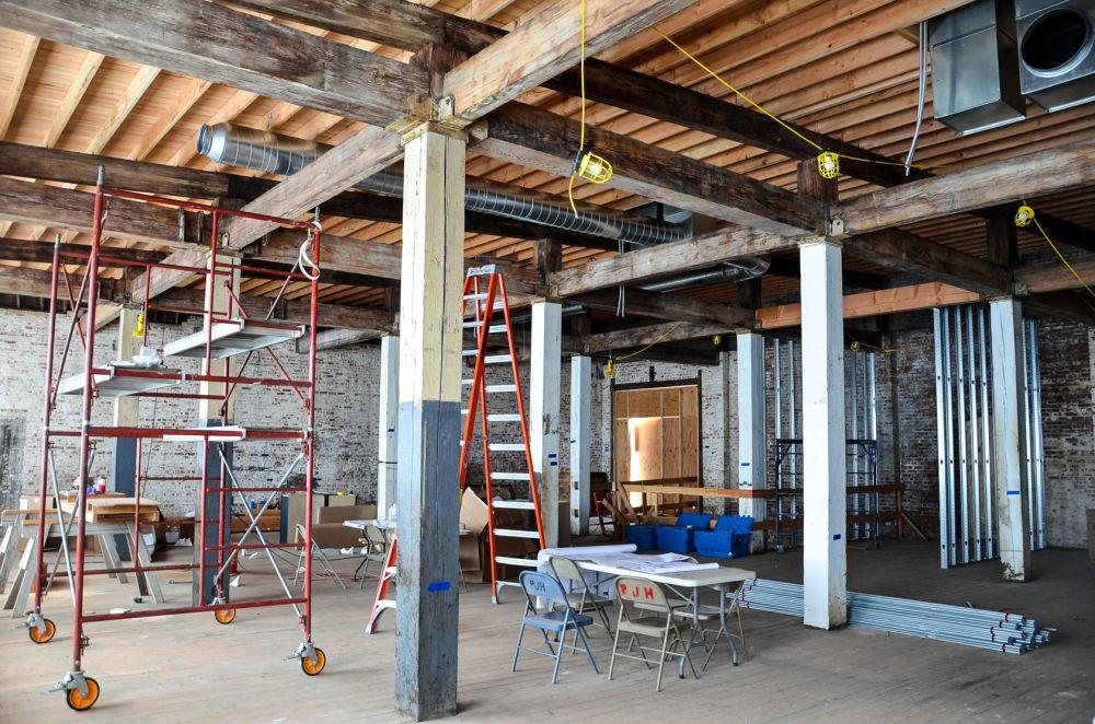 Pop A Shot Historic Warehouse District Renovation